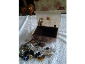 vintage working musical box with contents in Barnsley