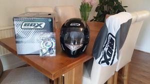 BOX BZ-1 Full Face Motorcycle Helmet