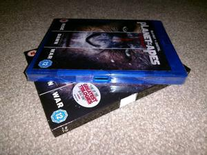 Blu ray planet of the apes trilogy new and sealed