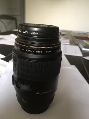 Canon ef 100 mm macro lens