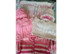 Hand knitted baby's bundle in Saltcoats