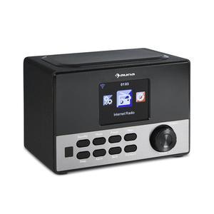 "Internet Radio Portable USB WLAN AUX Dual Alarm 3.2"" Colour"