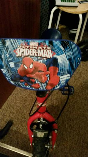 Kids Spiderman Bike Like New Condition
