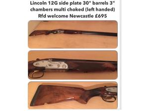 Lincoln 12G lefty in South Shields