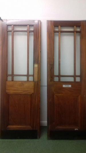 solid wood internal double doors