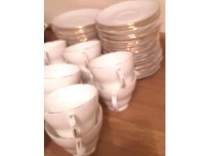 54 pieces of bone china cups and saucers in Cardiff