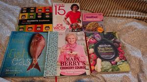 6 cookbooks! Mary Berry, Joe Wicks, Mitch Tonks, Abel & Cole, Marmite & BBC Good Food
