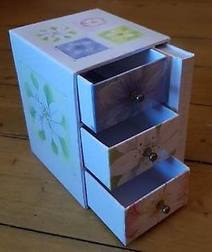 Jewellery musical box and box for bits and bobs