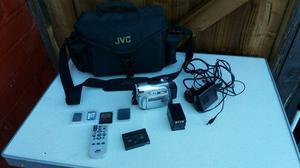 Jvs mini dv camcorder lcd screen + accessories working order