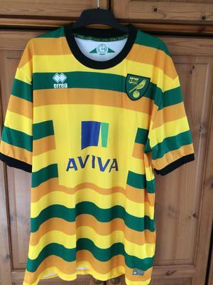 Norwich city shirt