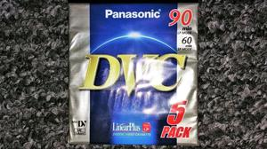 Panasonic DVC Camcorder Tapes [90 minutes] [5 Pack] Brand New