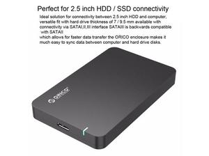 USB3.0 External Hard Disk Storage Case for 9.5mm 2.5 inch