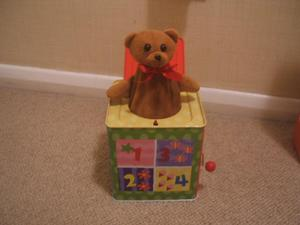 Bear in a box
