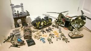 Bundle of Soldier Force 8 Toys