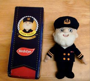 Captain Birds Eye Soft Plush Toy.