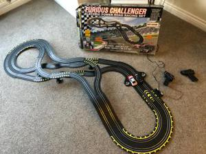 Furious Challenge Electric Power Road Racing Set - Used