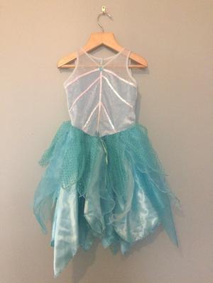 Girls Disney Tinkerbell Fancy Dress Aged 5-6 years