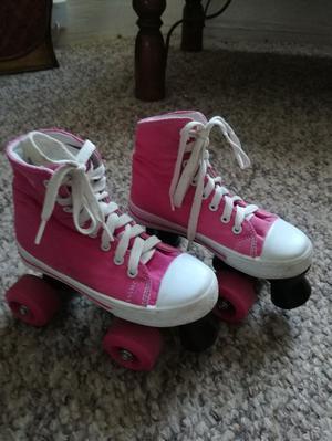 Girls roller skates size 13