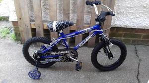 Kids spiderman Bike. As new only been riden once. HASTINGS