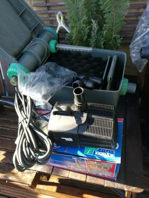 POND FILTER AND POND PUMP