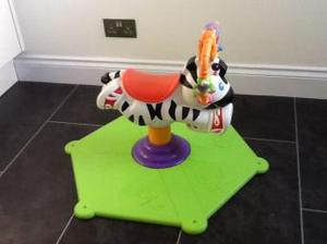 Sit and Spin Zebra