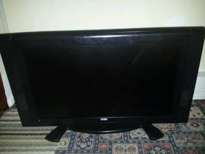"37"" lcd flat screen tv hd ready working but faulty for spares or repairs"