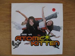 Atomic Kitten – See Ya - Promo CD Single – Innocent ?–