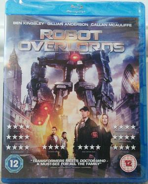 BRAND NEW AND SEALED (ROBOT OVERLORDS) blu ray