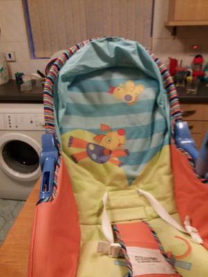 Baby rocker chair for use of newborn to toddler