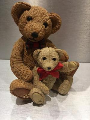 Beau Bear 'Angus and Carlisle' with box