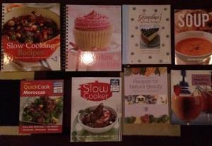 Cooking books various.