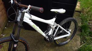 Downhill bike ironhorse