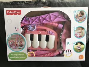 Fisher Price Kick and Play Mat PINK