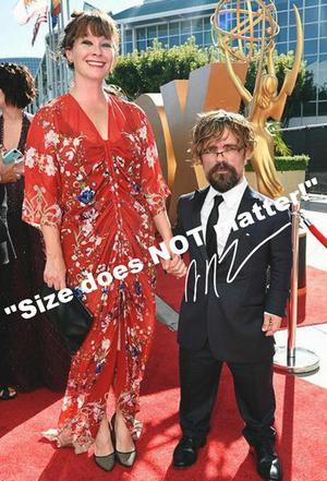 Game of Thrones PETER DINKLAGE Original photo with autograph