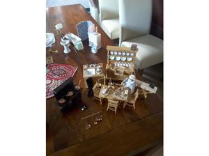 Handmade wooden dolls house in Ferndown