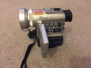 Sony digital video camera recorder DCR P100F
