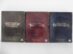 The Lord Of The Rings complete special extended edition.