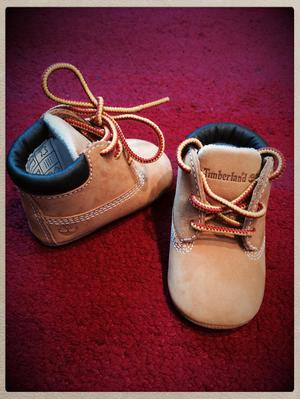 Timberland baby shoes- worn twice - excellent condition