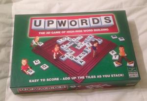 UPWORDS BOARD GAME PARKER HASBRO D GAME OF WORD BUILDING. COMPLETE VGC.