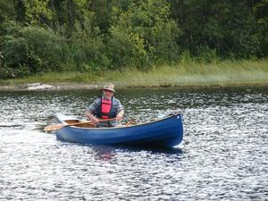 15ft Selway Fisher canadian canoe only used once.