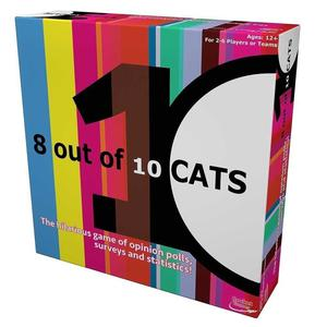 8 Out Of 10 Cats Board Game New & Sealed
