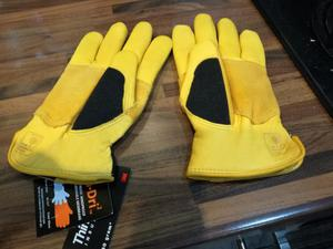 Brand new ladies nubuck gardening gloves