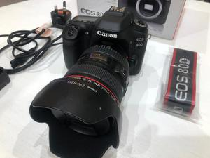 Canon 80D with mm L F4 Lens