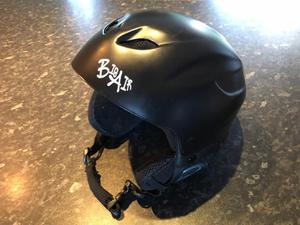 Cool Ski Helmet in Matt Black size Large