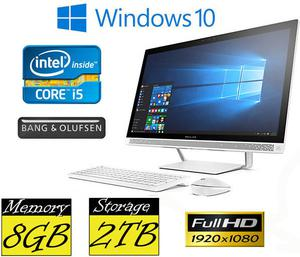 "HP 27-a205na All in One PC 27"" FHD IPS Quad Core iT"