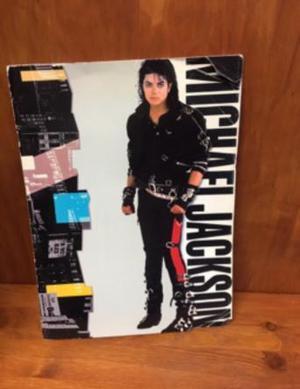 Michael Jackson tour book