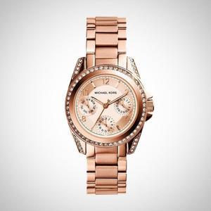 Michael Kors Rose Gold Watch MK