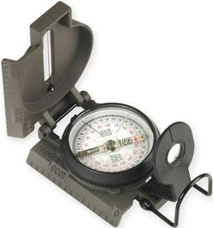 Ndur Unisex -Ssi Lensatic Compass with Metal Case,