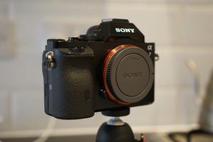 Sony AMP Full Frame Digital Camera, Black - (Body Only) ILCE-7