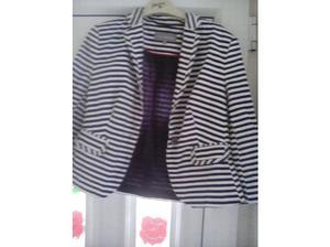 Striped size 12 blazer jacket ladies in Castleford